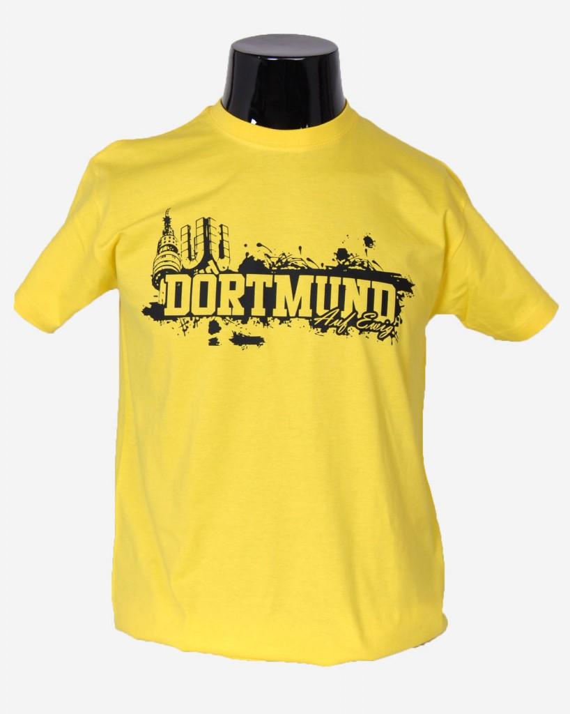 Shirt Dortmund Silhouette